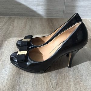 Salvatore Ferragamo Patent Pumps
